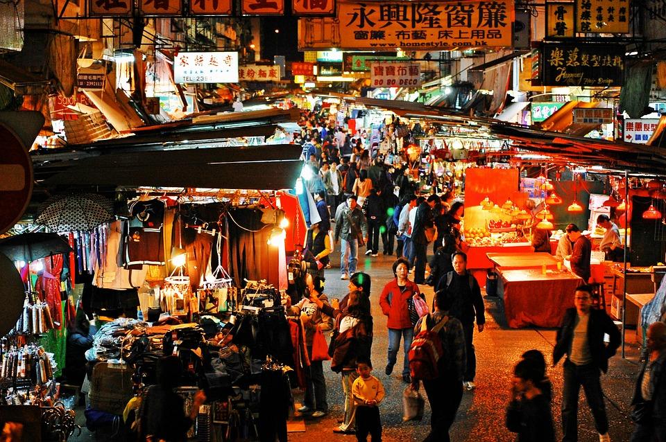 Hong Kong Textile exports