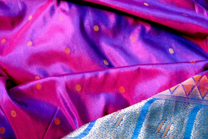 Indian silk